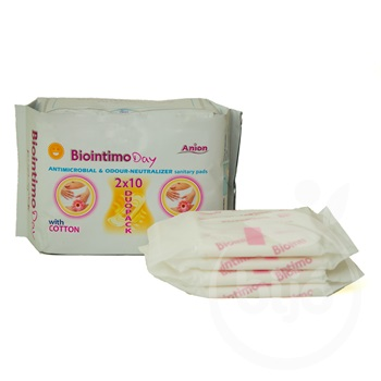 Biointimo duo-pack day anion 2x10db 20 db