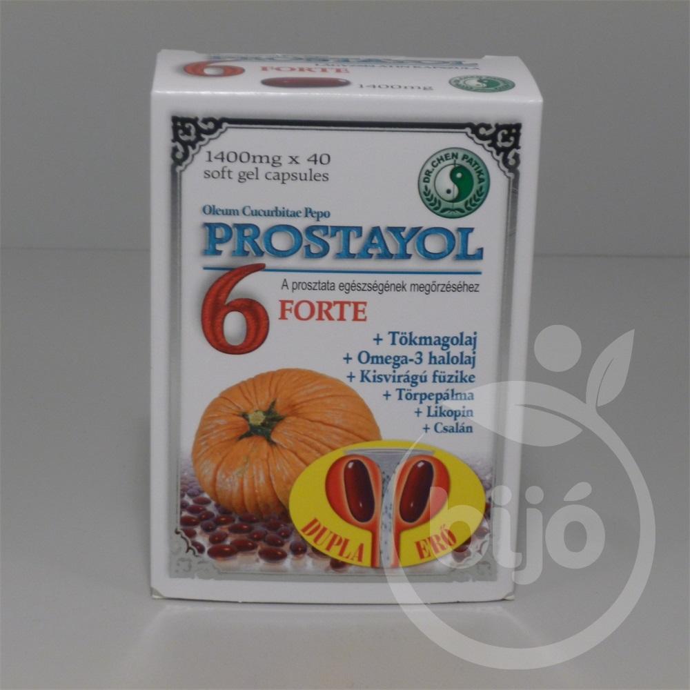 creditime.hu Prostayol 6 forte kapszula 40db mindössze Ft-ért az Egészségboltban!
