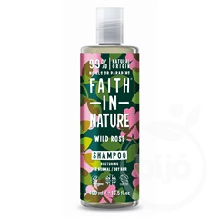 Faith in nature vadrózsa sampon 400 ml