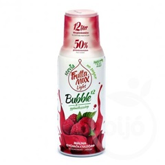 Fruttamax bubble 12 málna light 500 ml