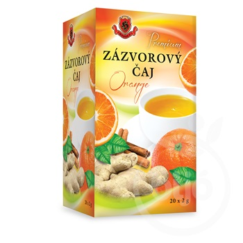 Herbex prémium gyömbér tea orange 20x2g 40 g