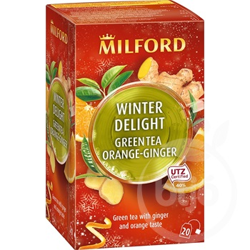 Milford WINTER DELIGHT zöld tea 20x1,75g