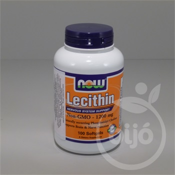 Now lecithin kapszula 1200mg 100 db