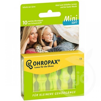 Ohropax mini soft füldugó 10 db