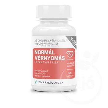 Pharmacoidea Normál Vérnyomás fenntartása Extra 60db..
